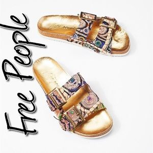 Free People Bali Footbed Sandal NWT 40 (9)